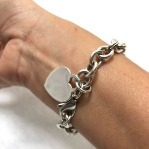 Autentic Tiffany and Co. Charm 925 bracelet